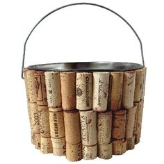 Rustic charm of a winery! http://www.bellelanehome.com/morgan-company-cork-cellar-bucket/