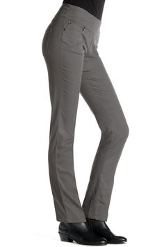 Comfort Waist Straight Leg Twill Pull-On Pant: Classic Women's Clothing from #ChadwicksofBoston $39.99 - $44.99