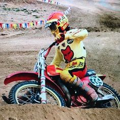 Larry Wosick On The Fox Honda Phoenix National Motocrosshistory