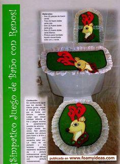 juegos de baños en foami para navidad - Buscar con Google