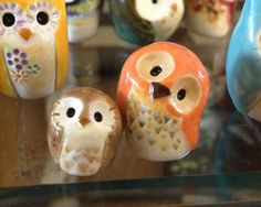 HOLD for RUTH Felicis the Lucky Clay Owl Harry by calicoowls, $15.00