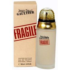 Perfume que eu amava, pena que tiraram de linha: Fragile By Jean Paul Gaultier