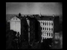 """Here is a very interesting """"art film"""" from Russia. Dziga Vertov's """"The Man with a Movie Camera"""" is considered one of the most innovative and influential films of the silent era. Startlingly modern, this film utilizes a groundbreaking style of rapid editing and incorporates innumerable other cinematic effects to create a work of amazing power and energy. This is a powerful, totally visual film without title cards, actors or storyline. Released: September 8, 1929"""