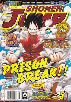 May 2010 Shonen Jump Magazine Bakuman Bleach Naruto One-Piece D Gray-Man Manga