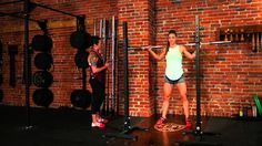 Barbell Snatch Balance Tutorial with Diane Fu & Andrea Ager