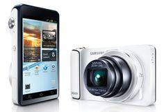 Samsung announces Galaxy Zoom, a Camera-Smartphone Hybrid Camera Digital Samsung, Samsung Camera, Camera Phone, Digital Cameras, Samsung Galaxy S4, Samsung Android Phones, Android 4, Android Camera, Wifi