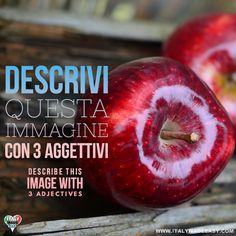 Descrivi questa immagine con 3 aggettivi Italian Memes, 3, Make It Simple, Apple, Fruit, Easy, Image, Food, Apple Fruit