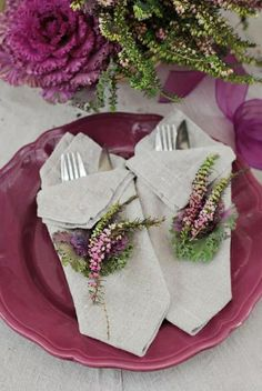 mode de pliage, pliage serviette en papier de couleur gris, pliage serviette papier