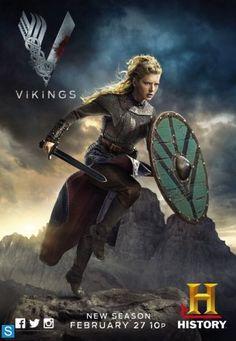 Posters de los personajes de la segunda temporada de Vikings