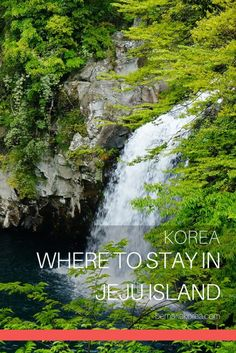 Jeju Island in South Korea is huge, so finding the right hotel can be a little overwhelming. Read this guide on where to stay in Jeju Island! South Korea Travel, Asia Travel, Best Places To Travel, Cool Places To Visit, Jeju City, Jeju Island, Visit Japan, Beautiful Places In The World, Amazing Adventures