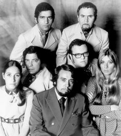 Sergio Mendes & Brasil '66.    Top row, left to right: Laudir DeOliveira, Sebastiao Neto (middle row) Rubens Bassini, Claudio Slon (bottom row) Lani Hall, Sergio Mendez, Karen Philipp.