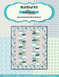 Riley Blake  Gracie Girl Free Project Sheet