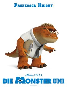 Professor Knight #DieMonsterUni ©Disney•Pixar