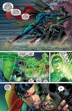 Justice League Preview page 4  Jim Lee, Justice League