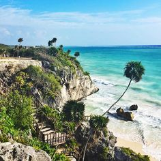 Wishing we were spending these cold winter days in Tulum. Photo courtesy of darwin_style on Instagram.