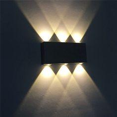 Bild 3 von 9 Led, Aluminium, Modern, Wall Lights, Lighting, Ebay, Design, Home Decor, Courtyards