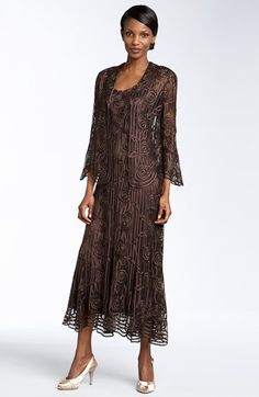 Soulmates Bead Crochet Dress & Jacket available at Nordstrom This dress gets my vote for Mother of the Groom dress!