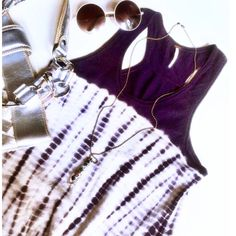 ⭐•️Free People• Tie-dye Cashmere Dress•. FINAL PRICE! Adorable •Free People• cashmere tie-dye dress. Excellent condition. So So soft & comfortable. Plum purple & off white tie-dye'd in color. Razorback style. Can also wear as a long top for versatility. Perfect for all seasons. Light weight. So unique, stylish & chic. Has stretch to it. Will fit a medium very well also. Fits really nice to your shape, without being clingy. 33' in Length. Free People Dresses