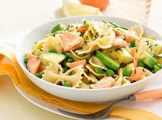 Multi colored bow tie pasta recipes