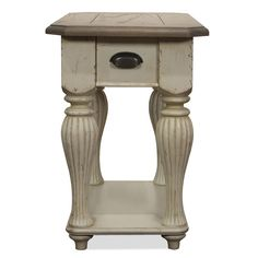 Coventry Two Tone Chairside Table by Riverside Furniture