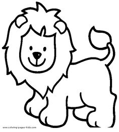 lion color page tiger color page plate coloring sheetprintable coloring picture - Coloring Pages Tigers Lions