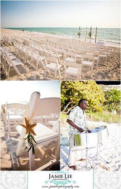 Hilton Naples Beach Wedding Ceremony With Jamie Lee Photography