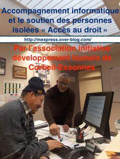 """Accompagnement informatique et le soutien des familles à domicile """" Accès au droit """""""