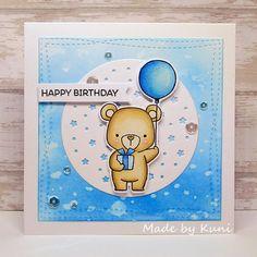 Kuni's Bastelblog : happy birthday | die nächste Geburtstagskarte : -)