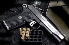 The Ultimate dream pistol. Shooting Guns, Shooting Range, Guns And Ammo, Weapons Guns, Custom 1911, Wilson Combat, Firearms, Shotguns, Fire Powers
