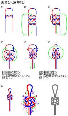 knots-国結び(藻井結)Plafond Knot                                                                                                                                                                                 もっと見る