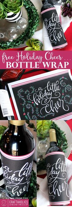 Perfect free printable for hosting your perfect christmas party.