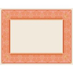 Coral photo frame