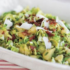 Sautéed Brussels Sprouts With Apples - Best Apple Recipes - Southern Living