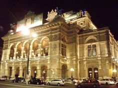 Vienna State Opera House.  I have enjoyed a wonderful concert here with music from Mozart and Johan Strauss