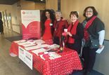 Thanks to everyone who came out for Wear Red Day at the MUHC, in support of the Women's Healthy Heart Initiative!