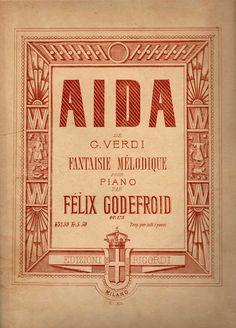VIVA VERDI 2013: Verdi e Aida a Namur in Belgio : Spartito musicato...