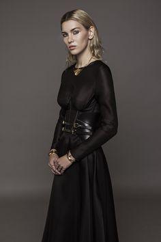 Aureliana Build in Corset Gown with bias cut Silk Organza Skirt Silk Organza, Summer Collection, Corset, Branding Design, Spring Summer, Gowns, Skirts, Modern, Fashion Design