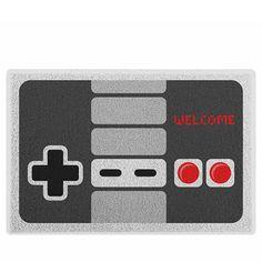 O Capacho Joystick Nintendo NES Nintendinho custa R$79,90 no Gorila Clube.