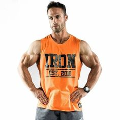 4deaff89544f8c Our  Iron  muscle tank back in stock. Iron Tanks Gym Gear · Men s Gym Wear