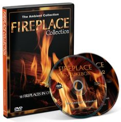 Fire DVD Box Set-Fireplace Collection 2013 with a choose out of 18 Fireplaces with the Sounds of Burning Wood