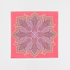 Towels Food Pink Printed (Set of 20) - napkins - table | Zara Home Greece / Greece
