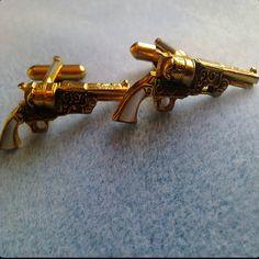 Cool Gun Cufflinks