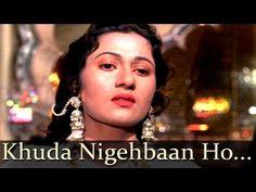 """Lyrics / Video of Song :"""" Wo Aai Subah Ke, Kudaa Nigahabaan Ho Tumhaaraa"""" by Lata Mangeshkar; Music:Naushad; Lyrics: Shakeel Badayuni from film Mughal-e-Azam (1960)Actors: Madhubala, Dilip Kumar"""