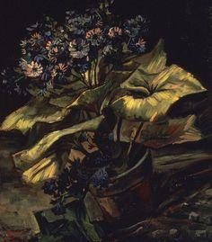 Van Gogh - Blumentopf mit Aschenkraut, 1886