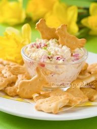 Cheese and egg salad - Easter appetizer