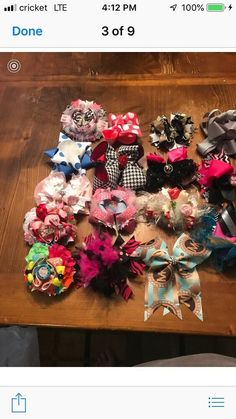 ee93719dcd7e5 girls hair accessories. Used. Bought from different boutiques  fashion   clothing  shoes