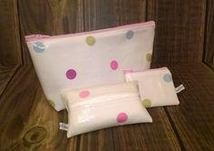 Oilcloth gift set, make up bag, purse key ring & tissue holder, brand new  £12.99