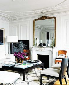 Elements Of Style Blog Parisian At Home And On You Http Www Elementsofstyleblog Inspiration Interior Pinterest Parisians