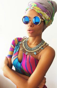 Colorfull fashion african