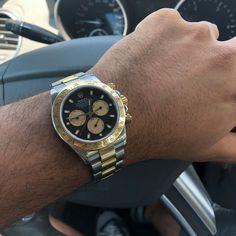 Rolex Daytona.. Paul Newman Dial ⌚ ⌚ ⌚ #Rolex #watch #daytona #black #steelandgold #instagood #photooftheday #fashion #beautiful #happy #followme #picoftheday #summer #instadaily #instalike #life #amazing #sunset #photography #bestoftheday #cool #lifestyle #instacool #instafollow #versilia #instafashion #italy #pietrasanta #luxury #fiorentino Paul Newman, Rolex Daytona, Sunset Photography, Rolex Watches, Hip Hop, Italy, Unisex, Lifestyle, Luxury